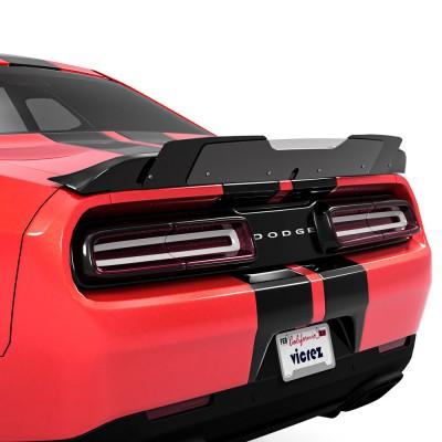 Vicrez V1R Wicker Bill Add-On vz102244 | Dodge Challenger 2015-2021