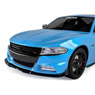 Vicrez V3R Style Front Bumper Lip Splitter vz101827 | Dodge Charger 2015-2020