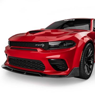 Vicrez V3R Style Front Bumper Lip vz102230 | Dodge Charger Widebody 2020-2022