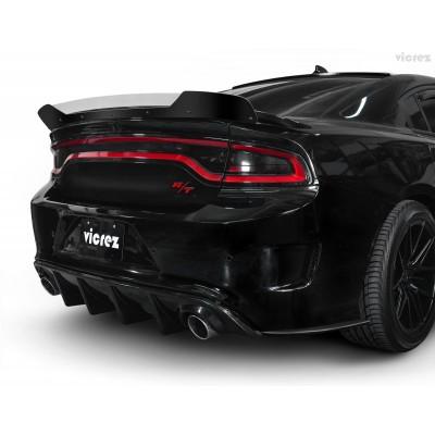 Vicrez V3R Style Full Rear Diffuser vz101707 | Dodge Charger 2015-2021