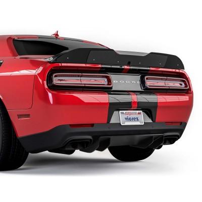 Vicrez V4R Carbon Fiber Rear Diffuser vz101793 | Dodge Challenger 2015-2020
