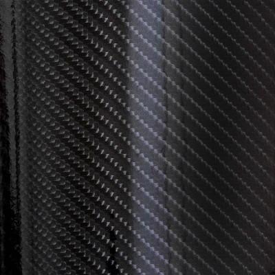 Vicrez Vinyl Car Wrap Film vzv10100 Ultra Gloss Epoxy Black Carbon Fiber