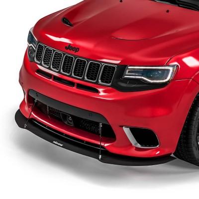 Vicrez VR1 Front Splitter vz102376 | Jeep Grand Cherokee Trackhawk/SRT/SRT8 2017-2021