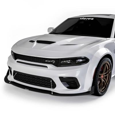 Vicrez VR2 Front Bumper Lip Splitter vz102098 | Dodge Charger Widebody 2020-2021