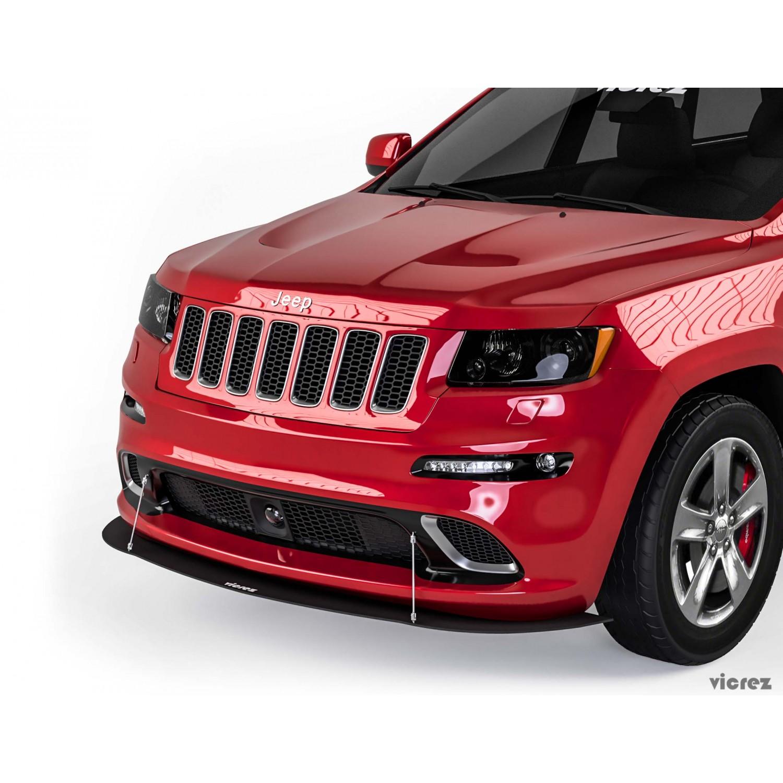 Vicrez VZ Front Bumper Lip Splitter vz101496   Jeep Grand Cherokee 2012-2019
