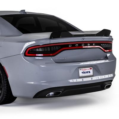 Vicrez VZ1 Wicker Bill for 3 Piece Spoiler vz102135   Dodge Charger 2015-2020