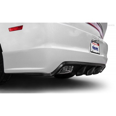 Vicrez VZ4 Style Rear Diffuser vz101709 | Dodge Charger SXT/SE/RT 2011-2014