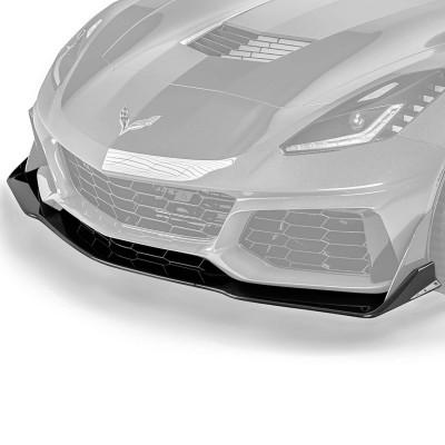 Vicrez VZR1 Style Front Lip vz102227| Chevrolet Corvette C7 2014-2019