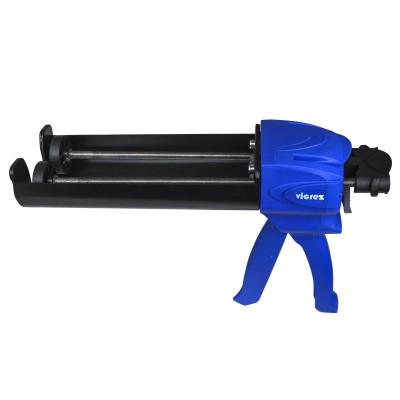 Vicrez vzt102 Dual Epoxy/ Caulking Cartridge Dispensing Gun 400mL (1:1 & 2:1)