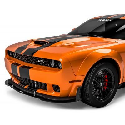 Vicrez VZW Front Bumper Lip Splitter vz101847 | Dodge Challenger Widebody 2015-2020