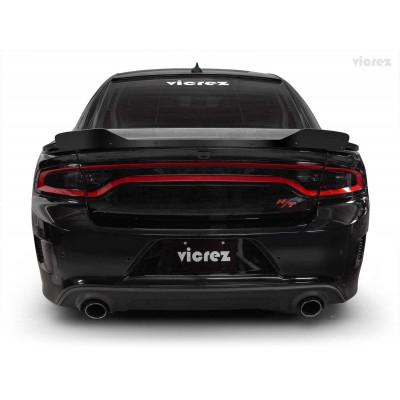 Vicrez Wicker Bill Add-on V3R Style vz101084 | Dodge Charger 2015-2020