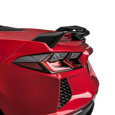 Vicrez Z51 Carbon Fiber Rear Spoiler vz102107 | Chevrolet Corvette C8 2020-2021