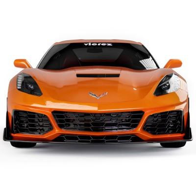 Vicrez VZR1 Style Front Bumper vz101478 | Chevrolet Corvette C7 2014-2019
