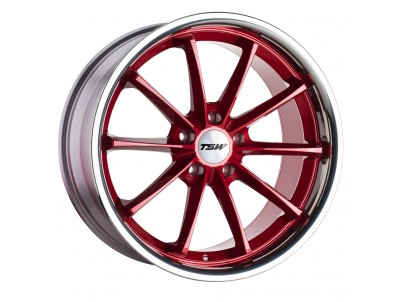 TSW Sweep Candy Red With Stainless Lip Wheel vzn102589