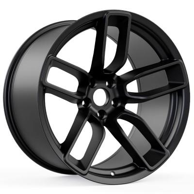 "Hellcat Redeye Style Widebody Matte Black Wheel (20""x11"", -2.5 Offset, 5x115 Bolt Pattern, 71.6 mm Hub) vzn100791"