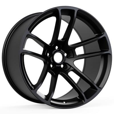"Hellcat Widebody Style Matte Black Wheel (20""x11"", -2.5 Offset, 5x115 Bolt Pattern, 71.6 mm Hub) vzn100793"