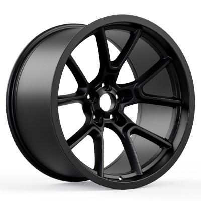"""Redeye Demon Style Widebody Matte Black Wheel (20""""x11"""", -2.5 Offset, 5x115 Bolt Pattern, 71.6 mm Hub) vzn102593"""