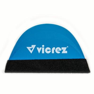 Vicrez Vinyl Smart Squeegee Felt Soft Blue Suede vzt168