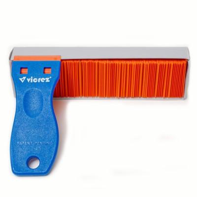 Vicrez Vinyl Wrap Plastic Razor Scraper Decal Remover w/ 100 Razor Blades vzt114