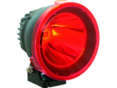 "Vision X Lighting  4.72"" CANNON LIGHT POLYCARBONATE COVER RED 9162492"