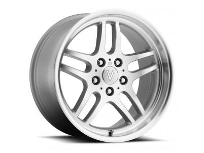 "BMW TT Silver Machined Face (18"" x 8"", +13 Offset, 5x120 Bolt Pattern, 74.1mm Hub) vzn104433"