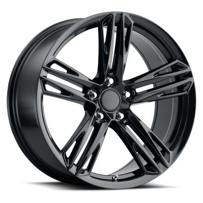 """Camaro ZL1 1LE Gloss Black (20"""" x 9"""", +27 Offset, 5x120 Bolt Pattern, 67.1mm Hub) vzn104431"""