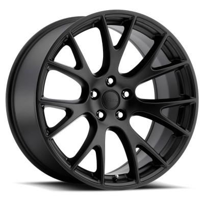 Hellcat Matte Black Wheel (20