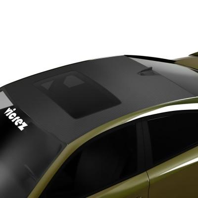 Vicrez Roof Wrap Vinyl vz102271   Dodge Charger 2011-2020