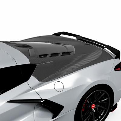 Vicrez Trunk Wrap Vinyl vz102274 | Corvette C8 2020-2021