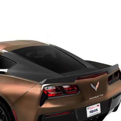 Vicrez Trunk Wrap Vinyl vz102275 | Corvette C7 2014-2019