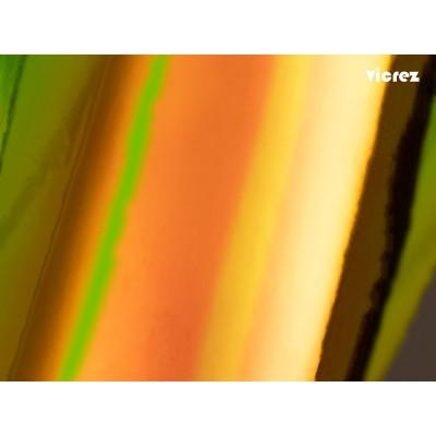 Vicrez Vinyl Car Wrap Film vzv10166 Chrome Gold Glare Holographic