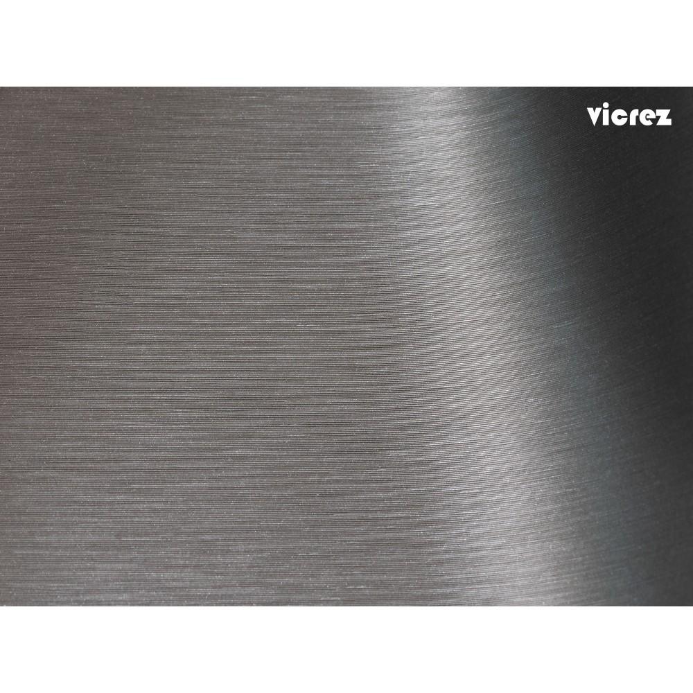Vicrez Vinyl Car Wrap Film vzv10175 Brushed Grey Aluminum
