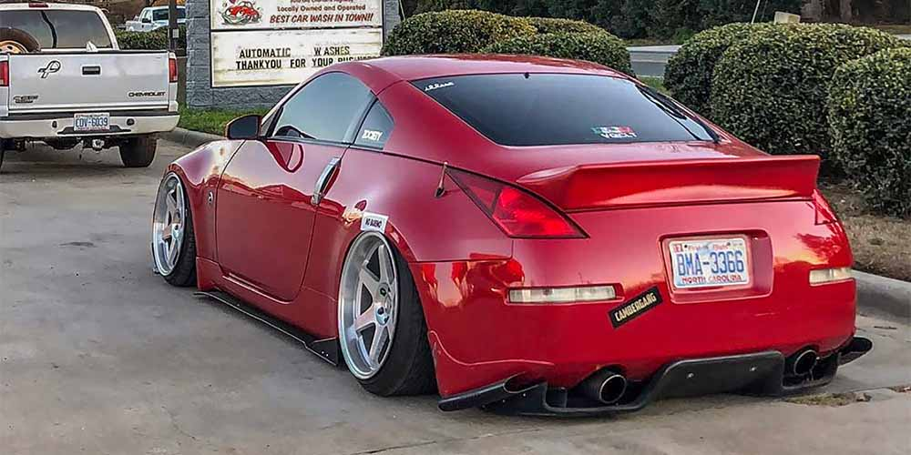 Vicrez Nissan 350z 2003-2008 Rocket Bunny / Ducktail Rear Wing Trunk Spoiler