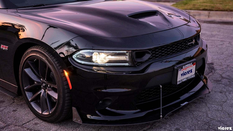 Vicrez Vz3 Style Front Bumper Splitter Vz100691 Dodge Charger 2015 2020