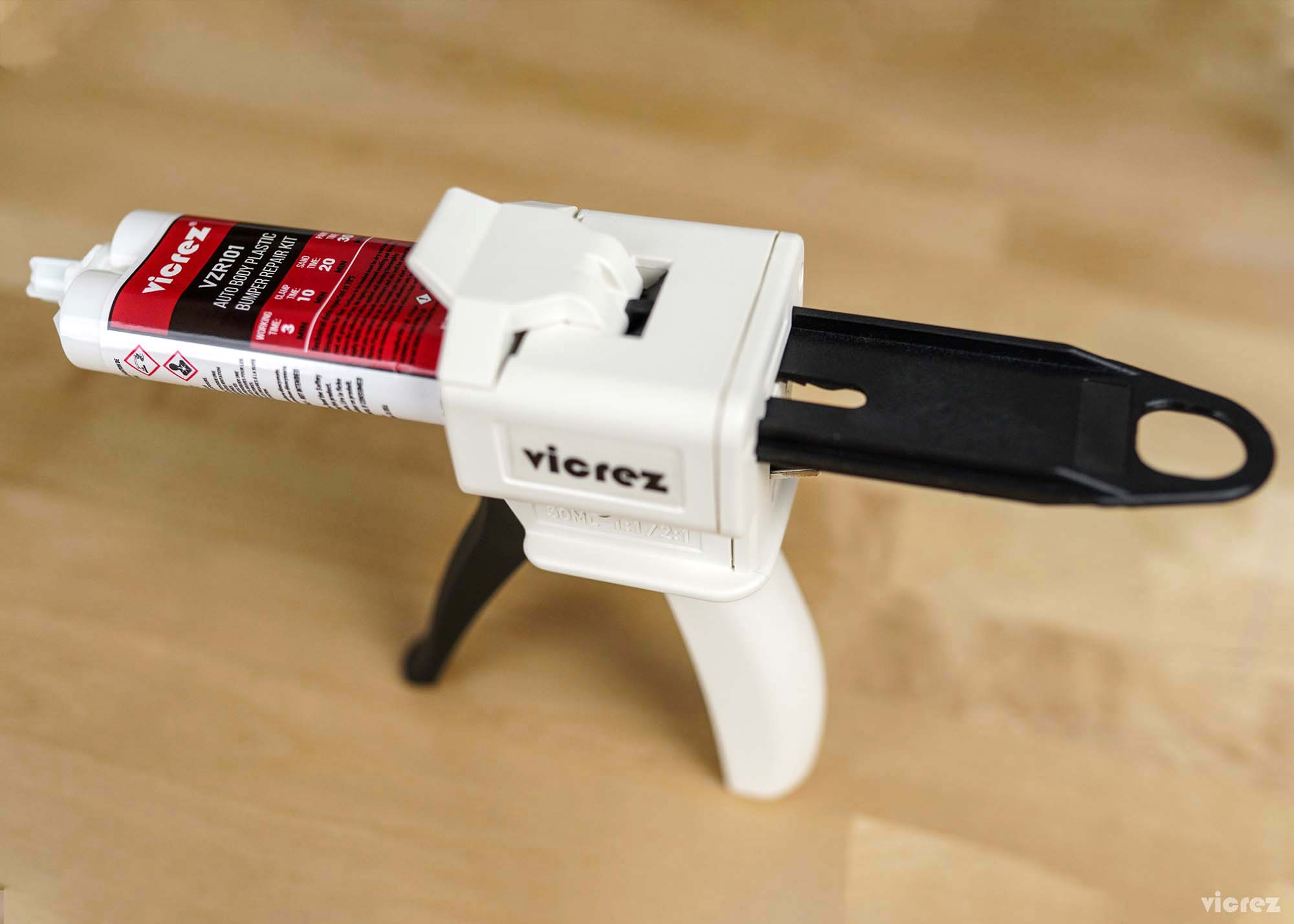 Vicrez vzt101 Dual Epoxy/ Caulking Cartridge Dispensing Gun 50 mL