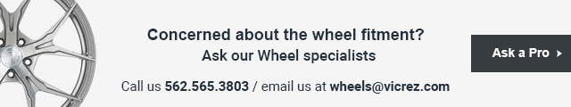 Ask our Wheel specialists at Vicrez.com